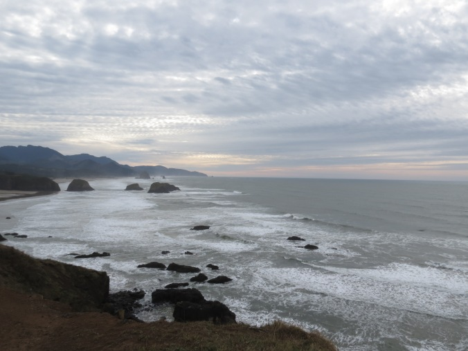 Southern view from Ecola State Park